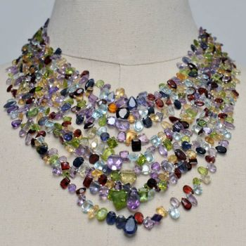 Faceted Semi-Precious Gemstones