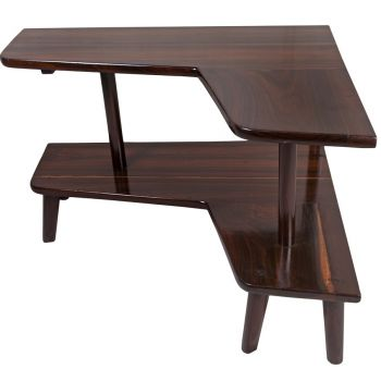 1950's Rosewood Corner Table - FT20195