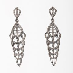 Diamond Art Deco Earrings-JE2019-26
