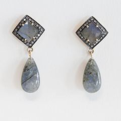 Diamond and Labradorite Drops-JE2018-29