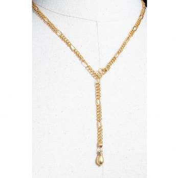 22K Gold Necklace, 'Y' optional-JN2019-3