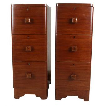 Pair of Teak Side Tables, C. 1970's-FC0720-7