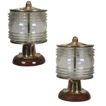 Fresnel Lens Post Lights with Added Bases-NL0720-10