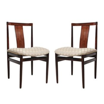 Pair of Mid-Century Modern Rosewood Chairs - FS2017-7