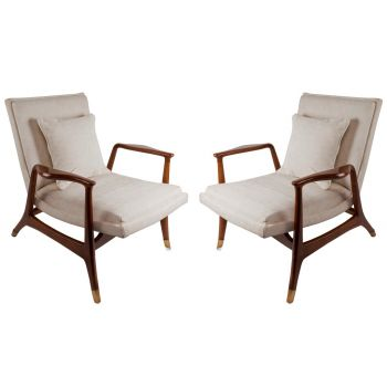 Set of 4 Mid-Century Modern Danish Chairs - FS2017-10