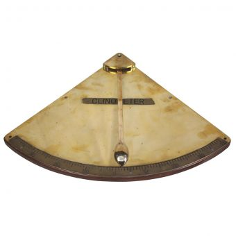 Ship's Brass Clinometer-NI0720-33